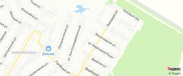 16-я улица на карте СНТ Восхода НГДУ с номерами домов
