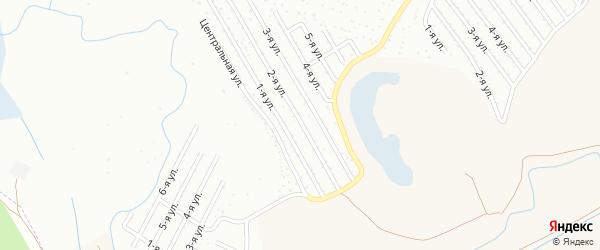 2-я улица на карте садового товарищества СПК Радуги 2 с номерами домов