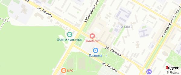 Улица Ленина на карте Нефтекамска с номерами домов