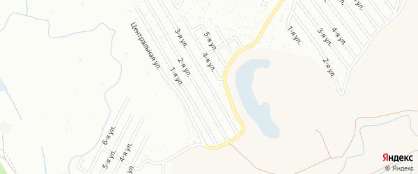 3-я улица на карте СНТ НАТП Южного с номерами домов