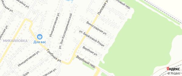 Улица Березовой рощи на карте Нефтекамска с номерами домов