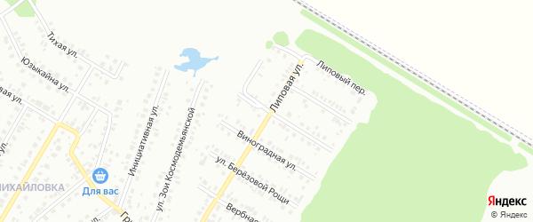 Белозерская улица на карте Нефтекамска с номерами домов