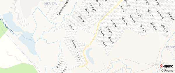 СТ СПК Ромашка на карте Нефтекамска с номерами домов