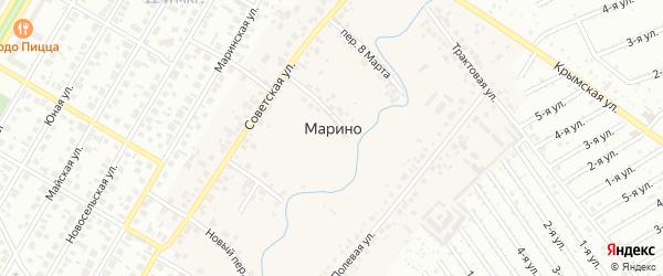 6-я улица на карте СНТ Госучреждение-2 с номерами домов
