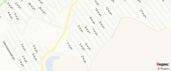 5-я улица на карте СНТ Арлана восточной стороны с номерами домов