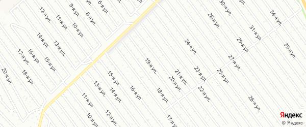 32-я улица на карте СНТ Арлана с номерами домов