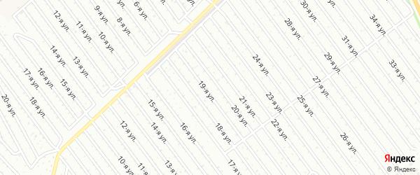 14-я улица на карте СНТ Арлана с номерами домов