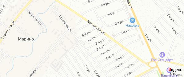 9-я улица на карте СНТ Арлана с номерами домов