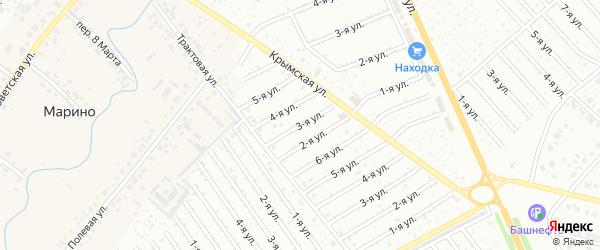8-я улица на карте СНТ Арлана с номерами домов