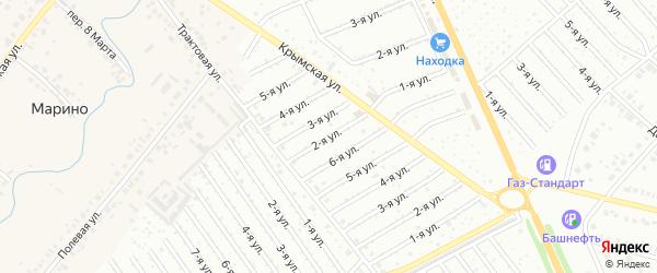 7-я улица на карте СНТ Госучреждение-2 с номерами домов