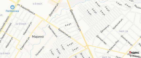 СНТ Энергетик НЭС на карте Нефтекамска с номерами домов