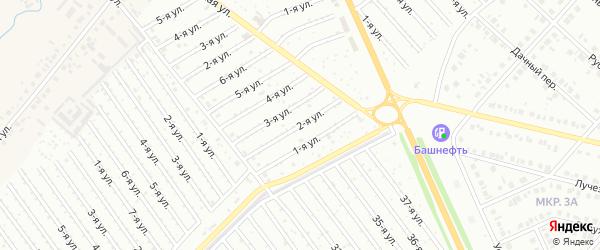 2-я улица на карте СНТ Арлана с номерами домов