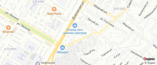 Сухой переулок на карте Нефтекамска с номерами домов