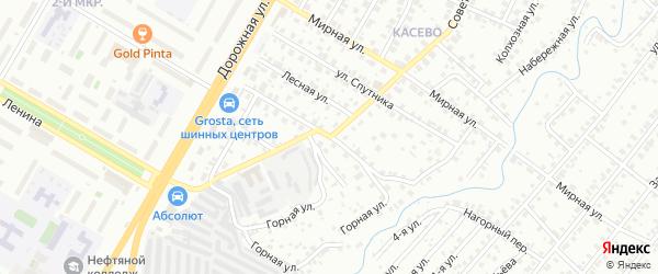 Улица Некрасова на карте Нефтекамска с номерами домов