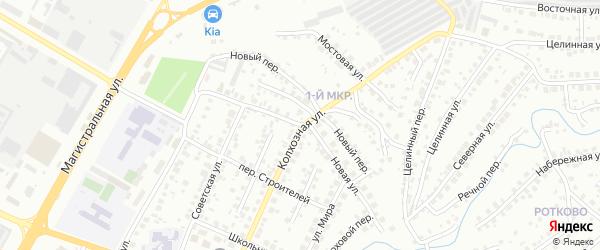Новая улица на карте Нефтекамска с номерами домов
