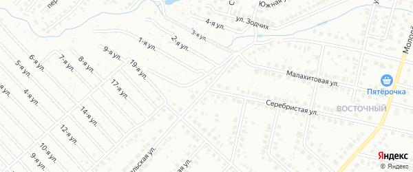 Уральская улица на карте Нефтекамска с номерами домов