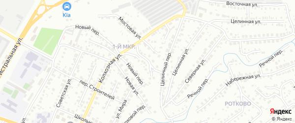 Крутая улица на карте Нефтекамска с номерами домов