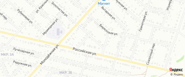 Коралловая улица на карте Нефтекамска с номерами домов