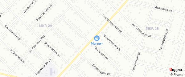 Молодежная улица на карте Нефтекамска с номерами домов