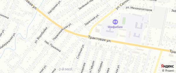 Улица Сюткина на карте Нефтекамска с номерами домов