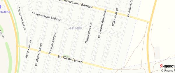 Ландышевая улица на карте Нефтекамска с номерами домов