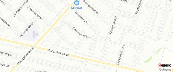 Бирюзовая улица на карте Нефтекамска с номерами домов