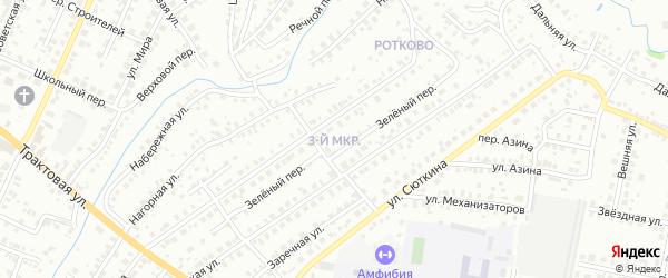 3-я улица на карте садового товарищества СПК Геофизика с номерами домов
