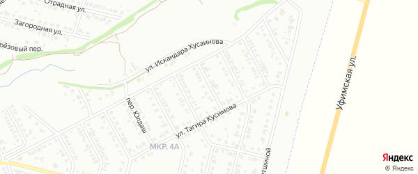 Яблоневый переулок на карте Нефтекамска с номерами домов