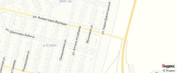 Яблоневая улица на карте Нефтекамска с номерами домов