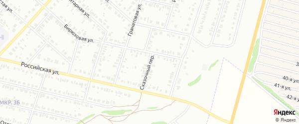 Сказочный переулок на карте Нефтекамска с номерами домов
