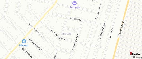 Волшебный переулок на карте Нефтекамска с номерами домов