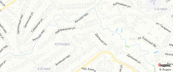 Улица Лесорубов на карте Нефтекамска с номерами домов