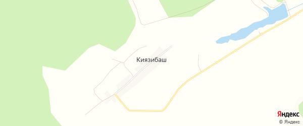 Карта деревни Киязибаша в Башкортостане с улицами и номерами домов