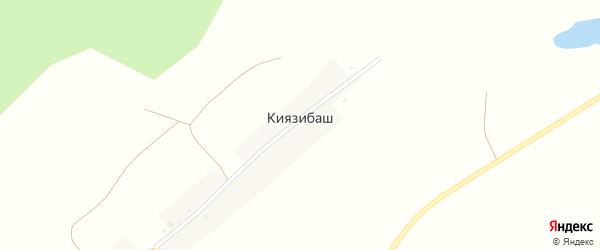 Лесная улица на карте деревни Киязибаша с номерами домов