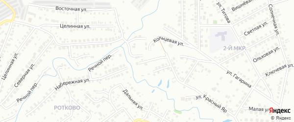 Фабричная улица на карте Нефтекамска с номерами домов