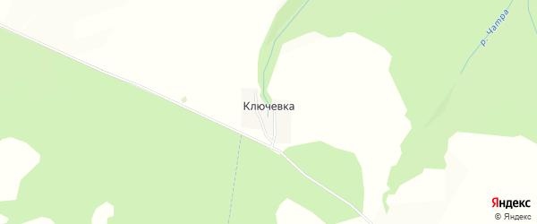 Карта деревни Ключевки в Башкортостане с улицами и номерами домов
