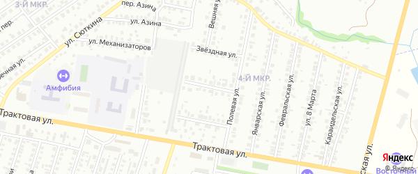 Удачная улица на карте Нефтекамска с номерами домов