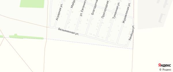 37-я улица на карте СНТ Восхода НГДУ с номерами домов