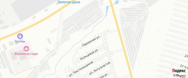 Овражная улица на карте Нефтекамска с номерами домов