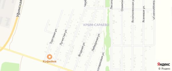 Ягодная улица на карте Нефтекамска с номерами домов