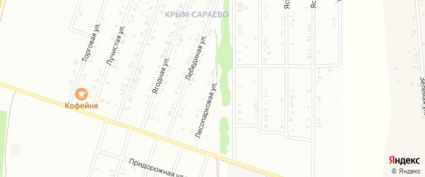 16-я улица на карте СНТ НАТП Южного с номерами домов
