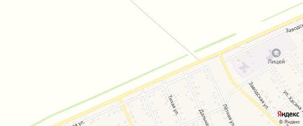 Береговая улица на карте деревни Зяйлево с номерами домов
