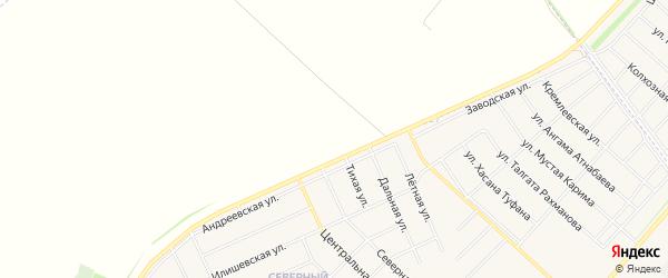 Карта деревни Зяйлево в Башкортостане с улицами и номерами домов