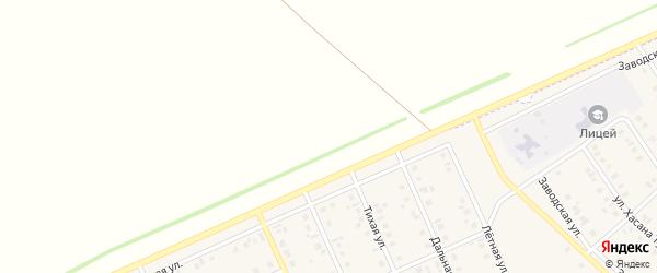 Шоссейная улица на карте села Исаметово с номерами домов