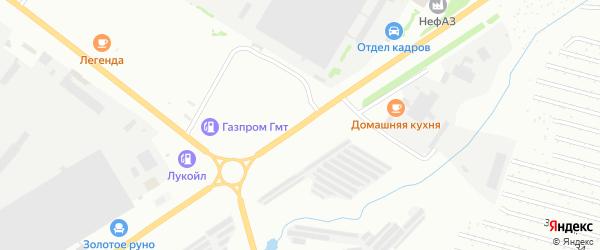 Янаульская улица на карте Уфы с номерами домов