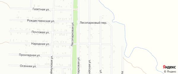 Олимпийская улица на карте Нефтекамска с номерами домов