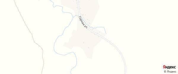 Садовая улица на карте села Старокиргизово с номерами домов