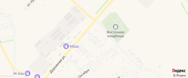 Улица Ибрагимова на карте села Нижнеяркеево с номерами домов