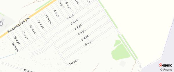 5-я улица на карте СНТ Энергетика НЭС с номерами домов