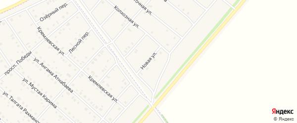 Новая улица на карте деревни Верхнечерекулево с номерами домов